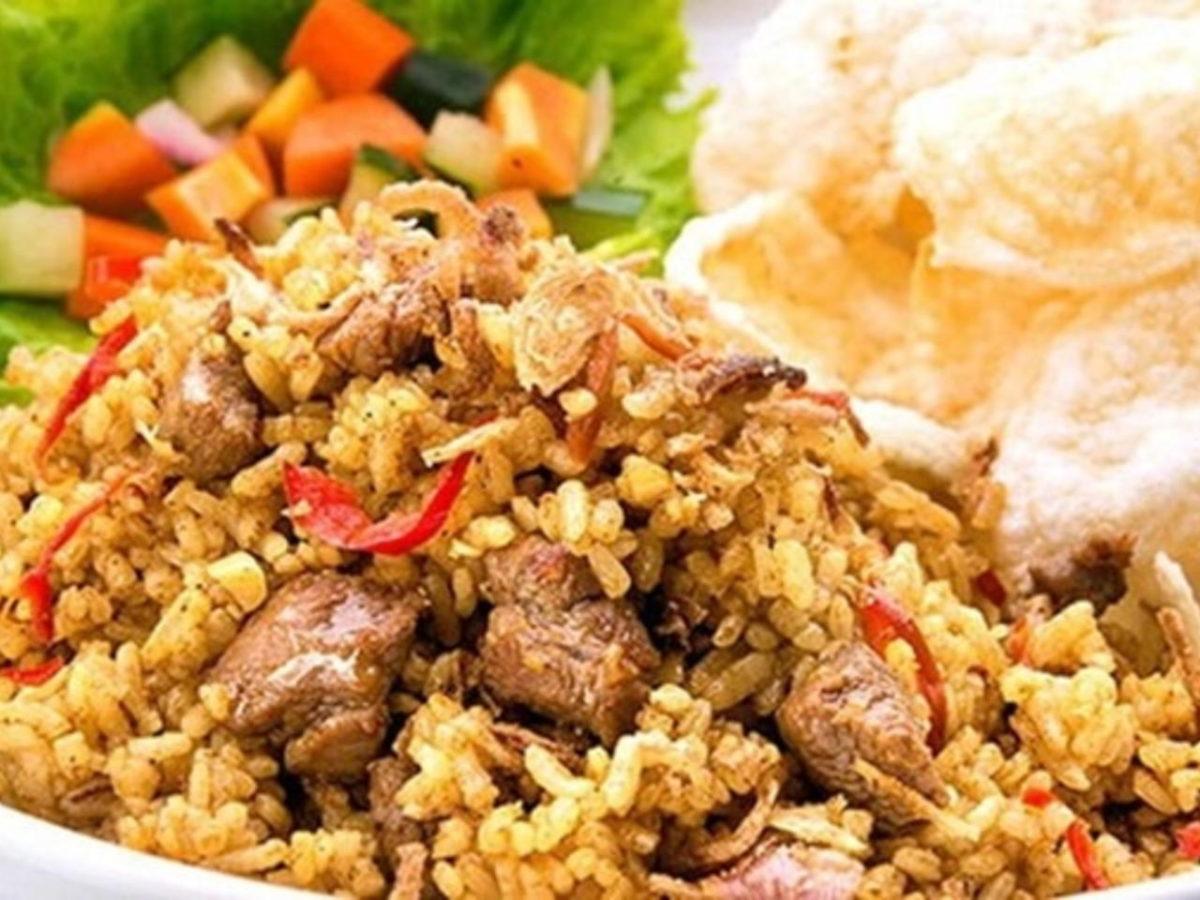 resep nasi goreng kambing