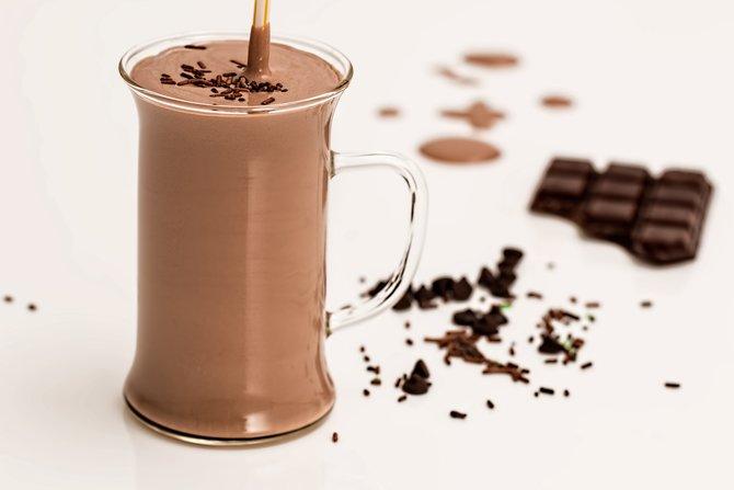 cara membuat milkshake coklat milo yang nyegerin banget
