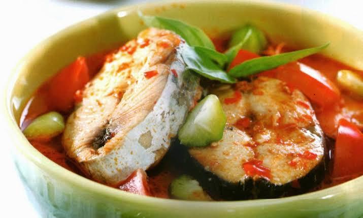 Resep Masakan Padang Ikan Tenggiri Asam Pedas Terlezat