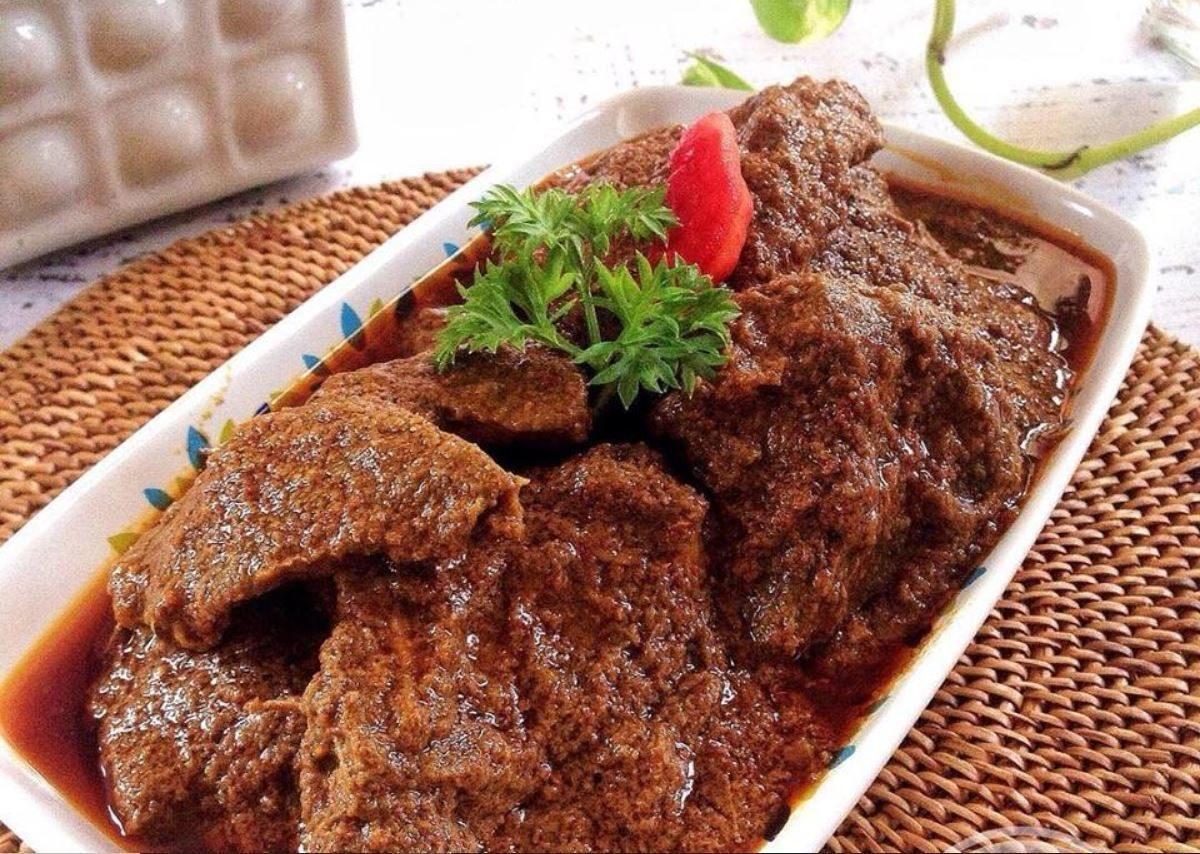 resep rendang daging kambing