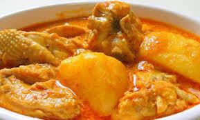 Cara Membuat Ayam Kari Kentang yang enak dan lezat