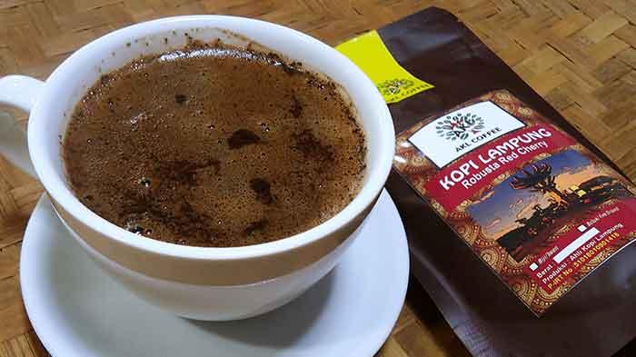 cara menyeduh kopi robusta