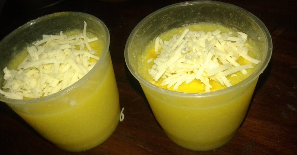 resep puding jagung keju