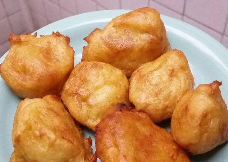 cara membuat Sari sukun manis
