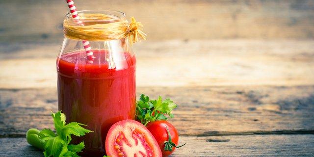 Cara Buat Jus Tomat Merah Enak, Gampang Buatnya dan Sudah Pasti Sehat