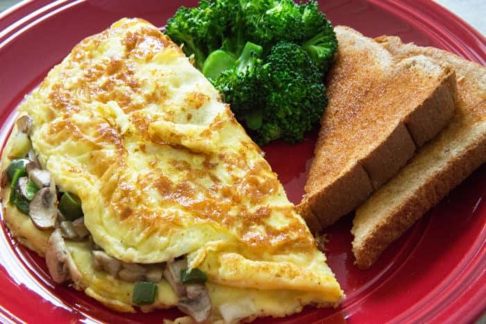 Resep Omelet Jamur yang Enak Lezat dan Sedap