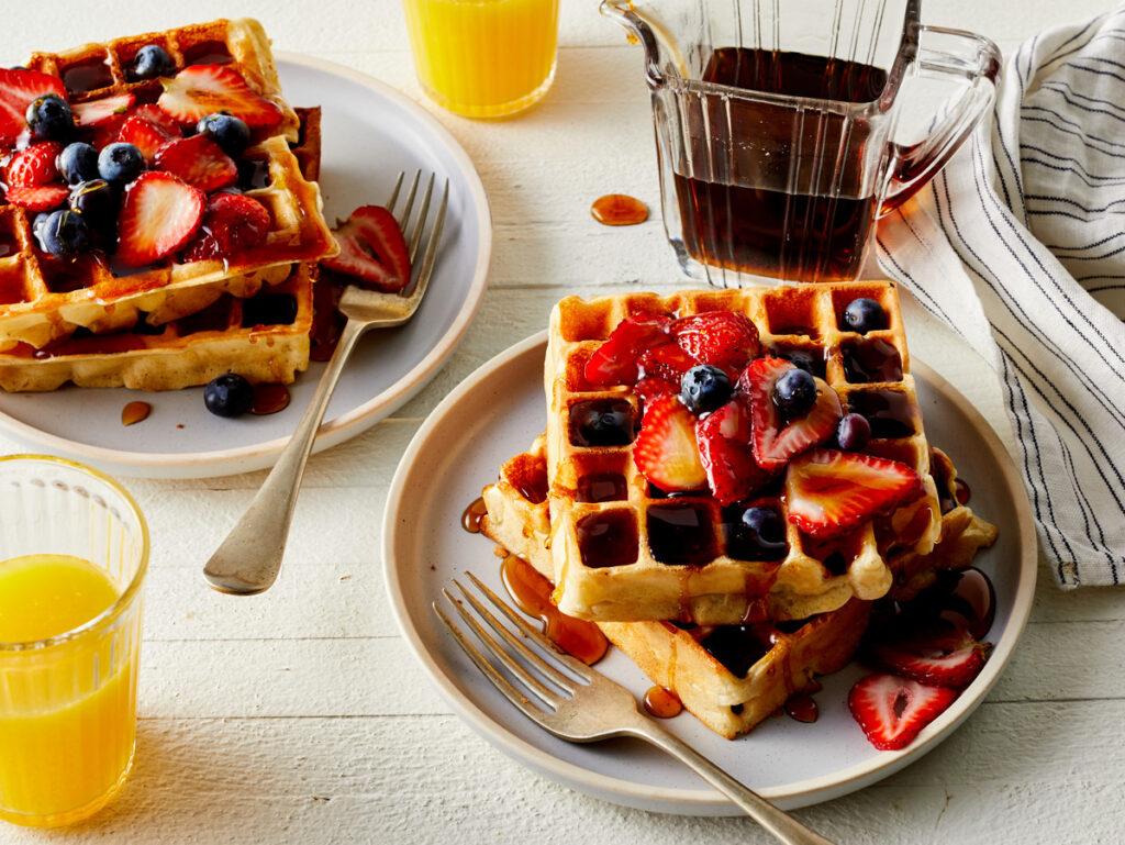 cara membuat waffle sederhana - waffle belgia