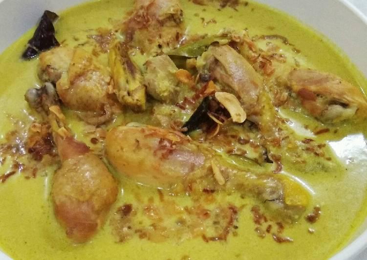 bumbu opor ayam kuning special